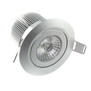 Spot LED Aluminium encastrable 7W - 230V