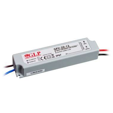 Alimentation LED IP65 24W 12V