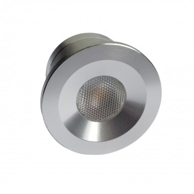 Mini spot LED Encastrable 1W - 12V